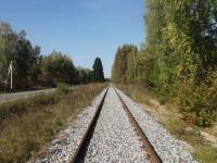 Подъездной путь и шоссе