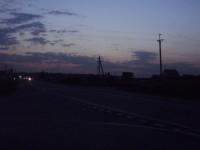 Вечер на окраине Каринского
